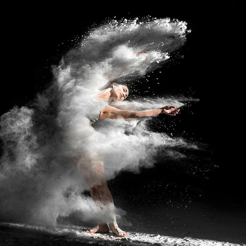 танец в муке